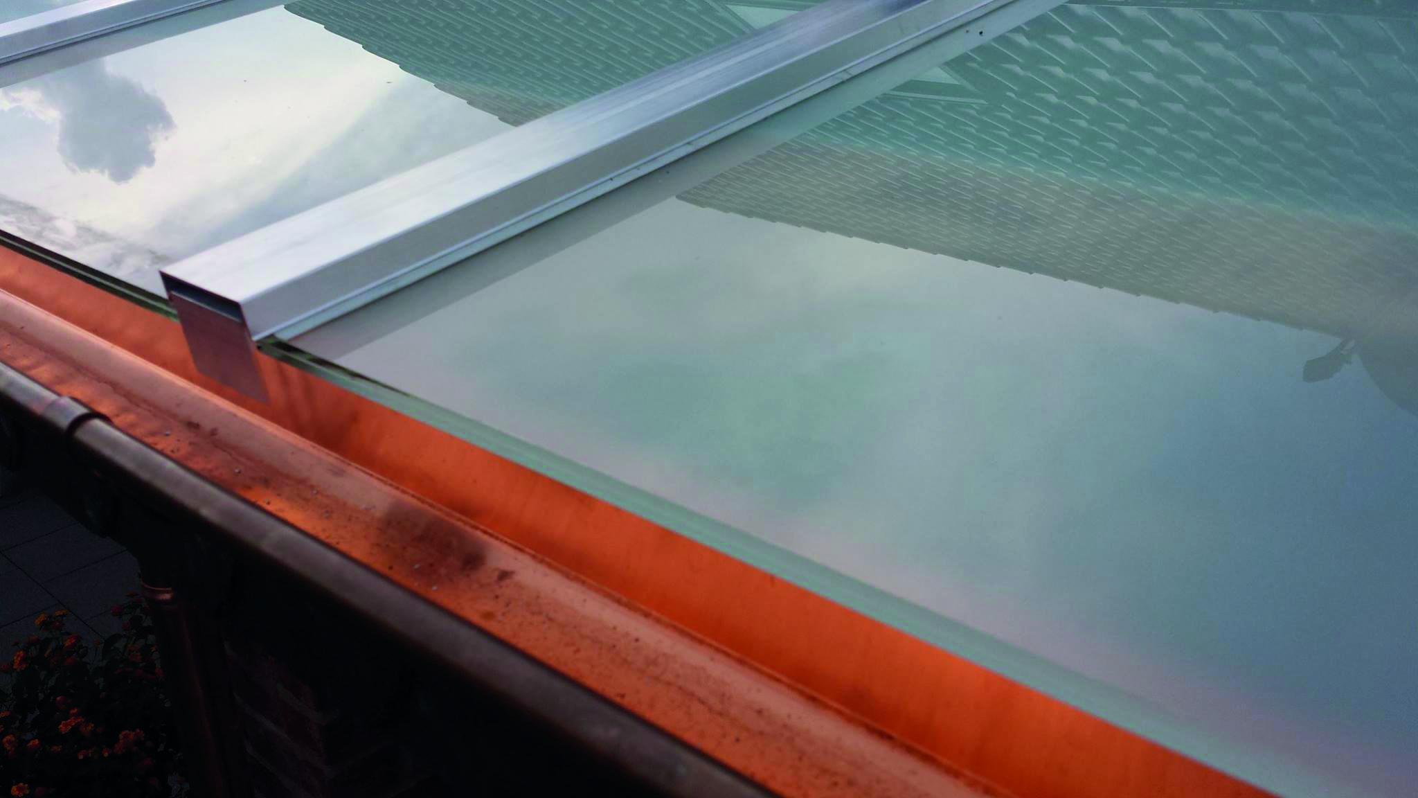 Verbundglas, Dachverglasung