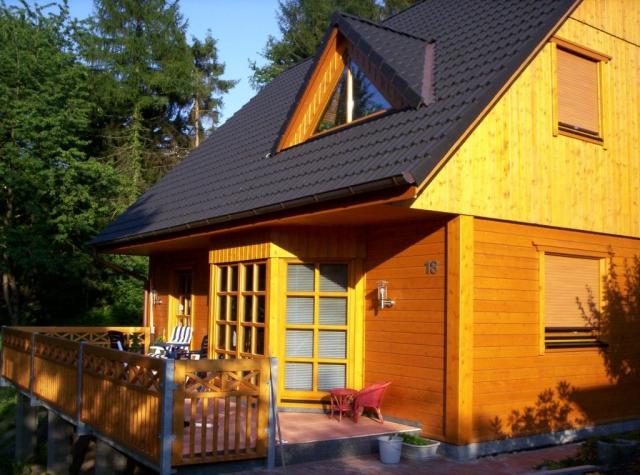 Ferienhaus mit Erker und Dachgaube