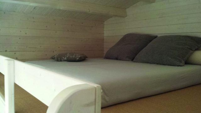 Ferienhaus mit Schlafboden
