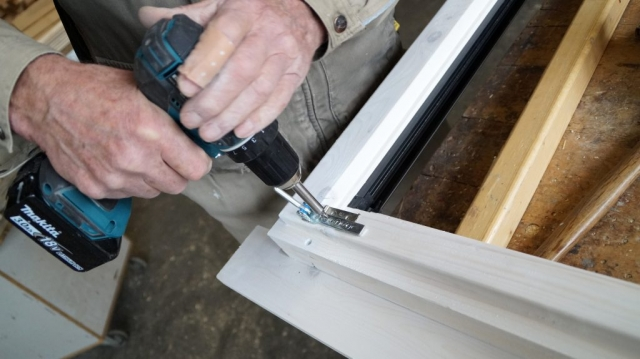 Fensterbau, Holz