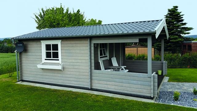 Satteldach, überdachte Terrasse