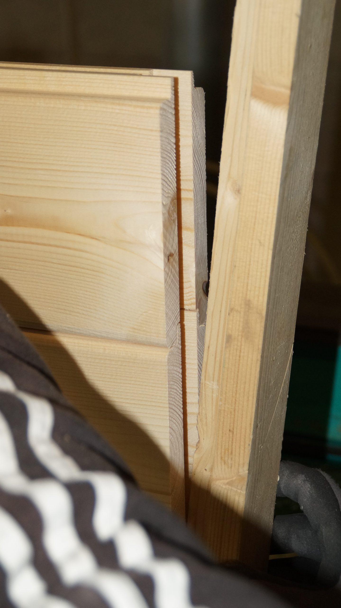 Holz, Stabilisierungsleiste