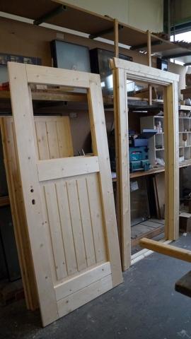 Holz, Tür, Laibungen