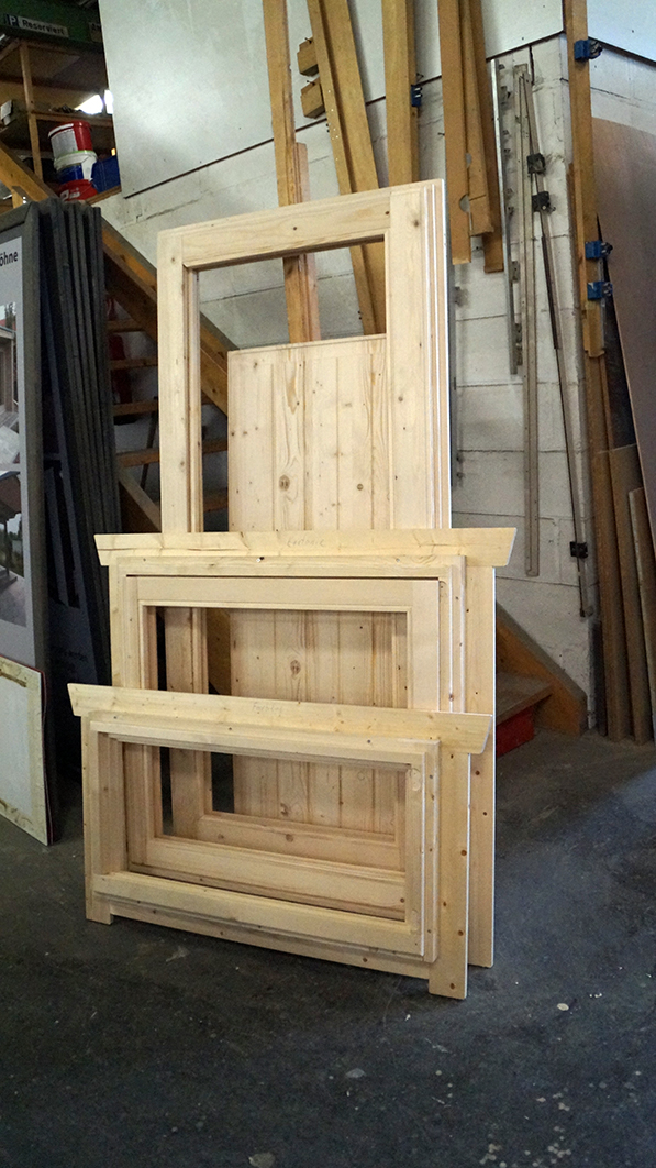 Holz, Fenster